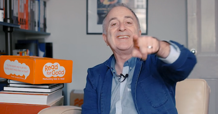 Run our sponsored read and win an exclusive school visit from Sir Tony Robinson!